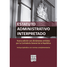 Estatuto Administrativo Interpretado