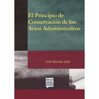 El Principio de Conservación de los Actos Administrativos